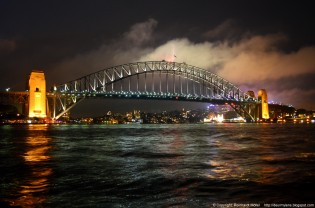 Blog Sydney Harbour  Bridge Mist 1